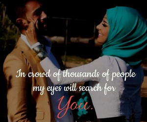 cute couples, muslim couples, and islam image