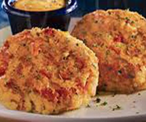 recipes, seafood, and crab cakes image