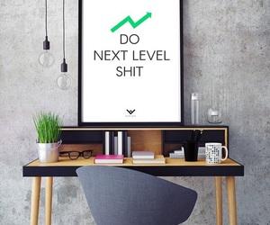 study, desk, and work hard image