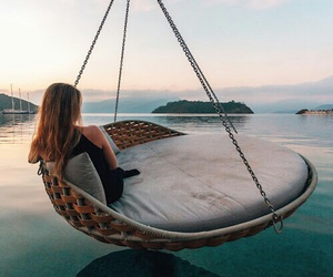 girl, places, and relax image