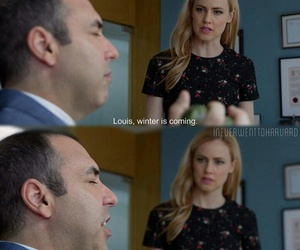 night, suitsusa, and louis litt image