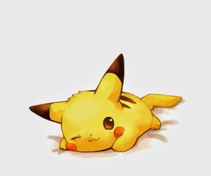 pikachu, cute, and pokemon image