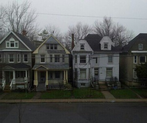 house, grunge, and pale image