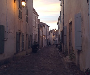 city, france, and rue image