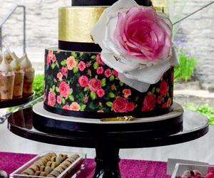 food and wedding cake image