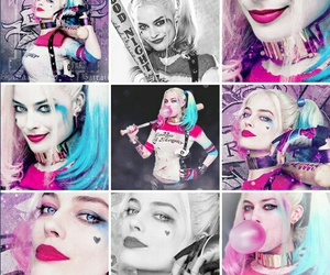 edit, harley quinn, and margot robbie image