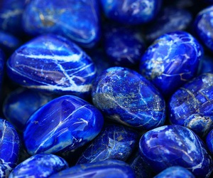 blue, stone, and love image