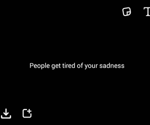 black, depression, and sad image