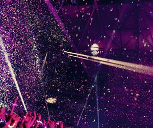coldplay, colours, and confetti image