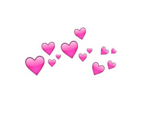 overlay, hearts, and png image