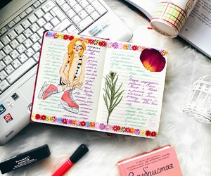 diary, notebook, and sketchbook image