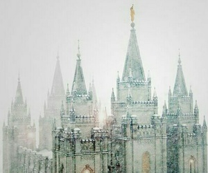 lds, mormon, and temple square image