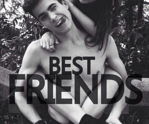 best friends, together, and friends image