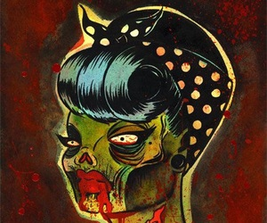 zombie and psychobilly image