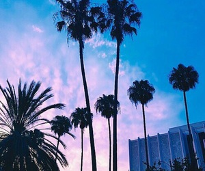 sky, tumblr, and blue image