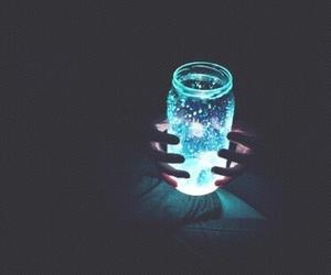 light, blue, and dark image