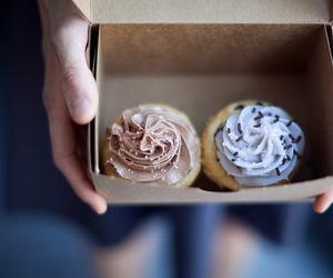 cupcake, food, and cake image