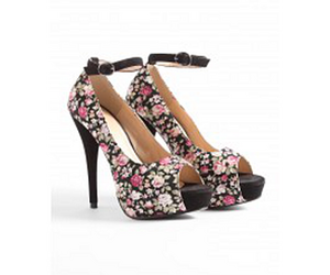 asos, flowers, and high heels image