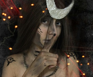 dark, kosplay, and witch image