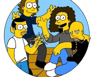 system of a down simpsons image