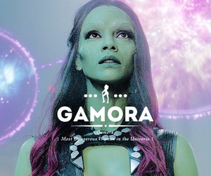 gamora, zoe saldana, and Marvel image