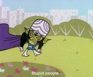 people, stupid, and cartoon image