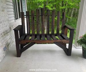pallet patio furniture, pallet outdoor furniture, and pallet garden furniture image