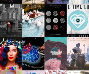 all time low, twenty one pilots, and wretched and divine image