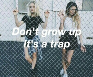 grunge, quotes, and trap image