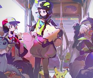 pokemon, pokemon go, and namie art image