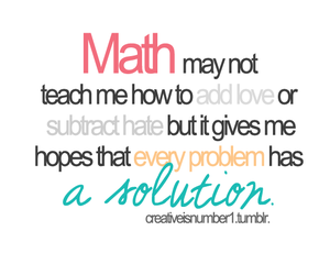math, solution, and hate image