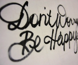 happy, quotes, and worry image