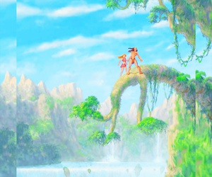 disney, jane, and jungle image