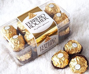chocolate, food, and ferrero image