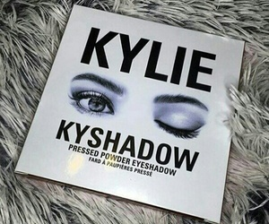 kylie, eyeshadow, and makeup image