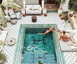 exotic, inspo, and pool image