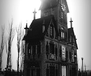 house, black, and dark image