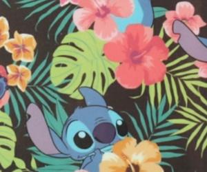 wallpaper, disney, and stitch image