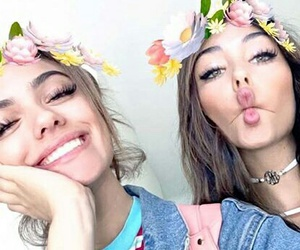 madison beer, snapchat, and kelsey calemine image