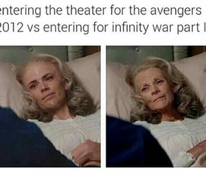 funny, Marvel, and memes image