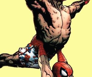 deadpool, spider man, and spideypool image
