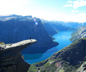 norway, nature, and mountains image