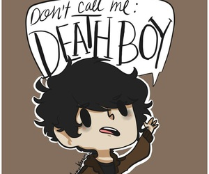 nico di angelo and death boy image