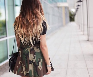 girl, outfit, and hair image