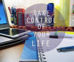 control, life, and study image