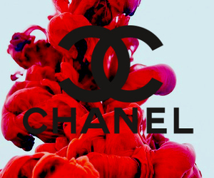 chanel, Logo, and red image