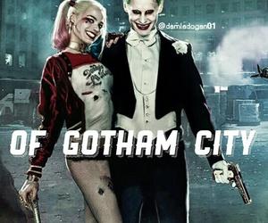 batman, harley quinn, and jared leto image