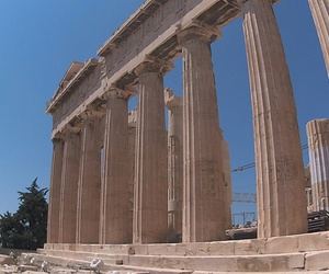 Athens, Greece, and old art image