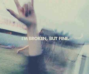 broken, fine, and grunge image