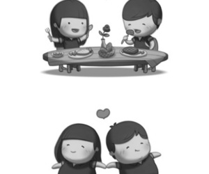 love, food, and love is image